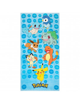Pokemon Kids Super Soft Cotton Beach Towel, 28 x 58, Power Group