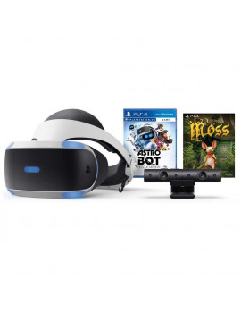 PlayStation 2018 VR Bundle: Astro BOT Rescue Mission, Moss, PlayStation VR Headset and Camera
