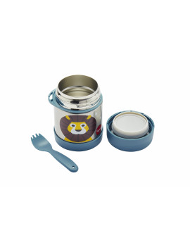 3 Sprouts Stainless Steel Food Jar and Spork for Kids