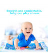 Baby Water Play Cushion,Stimulating Infant Inflater Mats with Colorful Underwater world - Fun Sensory Activity Pad for Kids