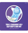 Luvs Triple Leakguards Extra Absorbent Diapers Size 4 288 Ct