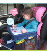 Kids Snack Play Travel Tray for Car Backseat