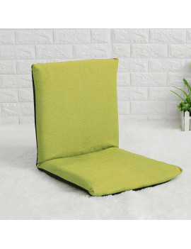 Adjustable 6-Position Folding Lazy Sofa Chair Floor Chair Multi-angle Home Seat