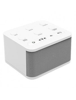6 Sound White Noise Machine | Sound Machine for Sleeping | Portable White Noise Machine for Office Privacy | Travel Sound Machine Baby | Plug in Or Battery Operated