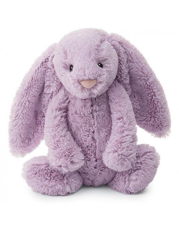 Jellycat Bashful Lilac Bunny Medium 12""