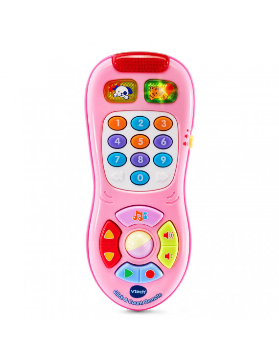 VTech Click and Count Remote Toy, Great Pretend Play Gift for Baby
