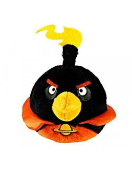 "Angry Birds 5"" Black Space Bird Plush Officially Licensed"