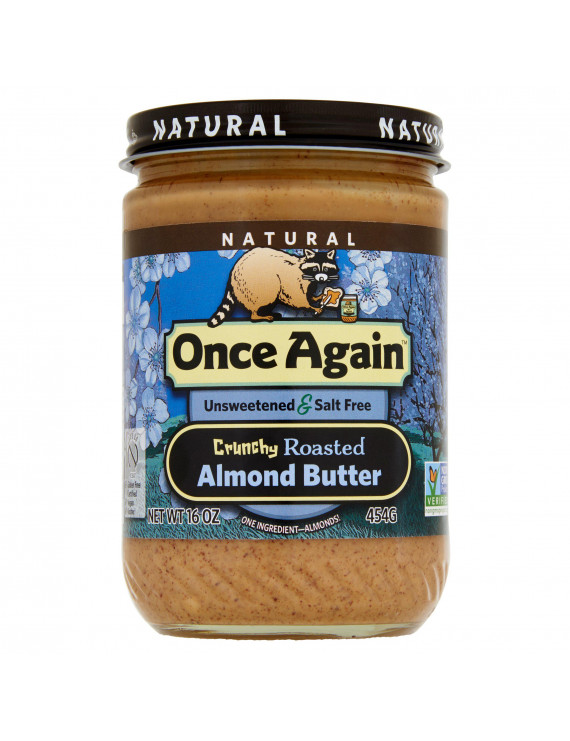 Once Again Almond Bttr Crnchy,16 Oz (Pack Of 6)