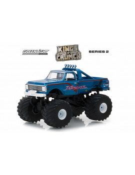 1972 Chevy K-10 Monster Truck, ExTerminator - Greenlight 49020D/48 - 1/64 Scale Diecast Model Toy Car